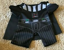 Build A Bear Clothes Star Wars Darth Vader Costume With Attached Cape Euc