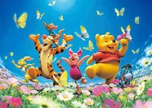 Tenyo 300 Piece Jigsaw Puzzle Winnie the Pooh Happy Bloom! (30.5 x 43 cm)