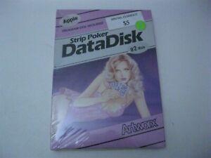 Strip Poker Data Disk Apple Disk #2 Artworx