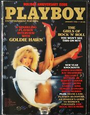 Playboy US 1/1985 Januar 1985 GOLDIE HAWN Joan Bennett Playmate Review