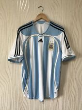 ARGENTINA 2006 2007 2008 HOME FOOTBALL SHIRT SOCCER JERSEY ADIDAS