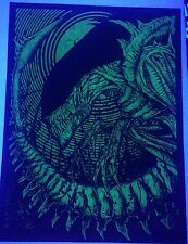 Alien Glow In The Dark Blacklight Poster
