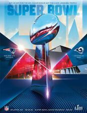 2019 Super Bowl 53 Official Programme - New England Patriots v Los Angeles Rams