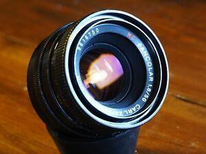 Carl Zeiss Jena MC Pancolar f1.8 50mm M42 to Canon ,Sony, NEX, A7, Full Frame