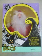 Vintage 1993 Disney The Nightmare Before Christmas Santa Hand Puppet Mib Sealed