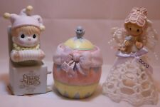 Precious Moments Figurine Lot of 3: #B0006, #113628, & #104849