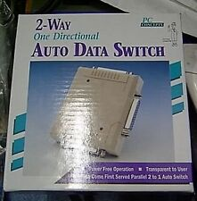 PC Concepts 2 Way Auto Switch Parallel Bitronics DB25 - 2 to 1 - Printer Scanner