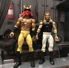 WWF WWE Elite 2015 & 2011 Wrestling Figures Mattel Bundle