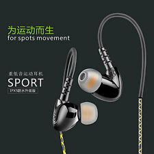 3.5mm Waterproof Surround Stereo Bass Sports Headphone