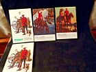 (4) The Northwest Paper Company vintage BOOKLETS Cloquet, MN Canadian Mountie