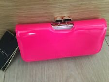 Ted Baker Pink Leather Purse New with tags no box