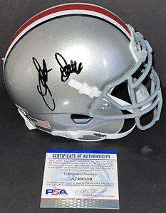Jack Sawyer Signed Autographed Ohio State Buckeyes Mini Helmet Rushman PSA/DNA