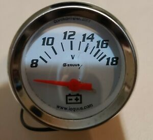 Equus battery voltage gauge
