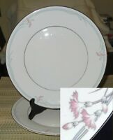 "(LOT X2) Royal Doulton Carnation H.5084 10 1/2"" Dinner Plate MINT"