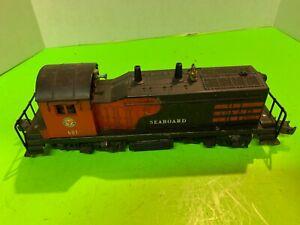 Lionel Postwar - 601 Seaboard NW2 Diesel Switcher