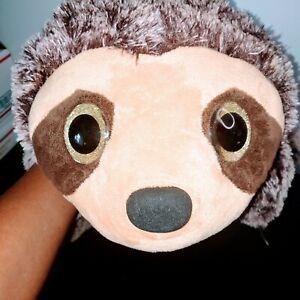 "Dan Dee Collector's Choice Big Beautiful Eye Floppy Soft ""Sloth"" Pillow Plush"