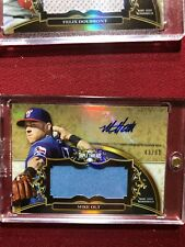 MIKE OLT 2013 TOPPS TRIPLE THREADS GAME USED JERSEY AUTO ROOKIE #/99 #MO5 RC