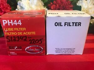 TWO (2) LUBER FINER OIL FILTER PH44