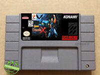 Castlevania Dracula X SNES Video Game [USA] Version FREE SHIPPING