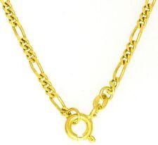 Sehr starke Kurze Kette Halskette Collier 585 er Gold 14K Neu 36 cm lang Massiv