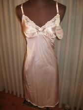 Vintage With Original Tags Maidenform Fashion Lace Pink Slip Women'S Size 32