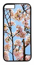 Cherry Blossom Cute New Pattern Skin Case Cover For iPhone 6 6s Plus 5 5s 5c 4s