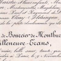 Arthémise Hyacinthe Caroline De Bourcier De Monthureux-Ficquelmont Paris 1877