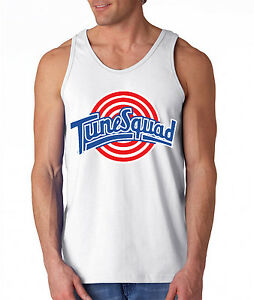 Tunesquad Space Jam BUGS BUNNY Michael Jordan shirt Front TANK-TOP Front & Back