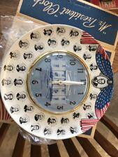 Rare Vintage Spartus MrPresident Clock
