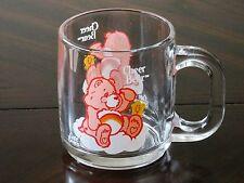 1984 Care Bears Cheer Bear Unused Glass Mug - American Greetings - Vintage  Rare