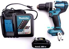 "New Makita Brushless 18V XPH12 1/2"" Hammer Drill, (1) BL1820 Battery, 1) Charger"