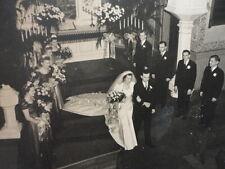 Photo Catholic Wedding Service Wedding Party Beginning & Ending 2 photos Vintage