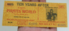Ten Years After & Humble Pie 1971 April Unused Concert Ticket Pirates World Fl