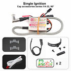 Rcexl Automatic Single Ignition for NGK ME8 1/4-32 90 Degree + Universal Sensor