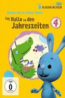 SAG HALLO ZU DEN JAHRESZEITEN!-KIKANINCHEN-DVD 4  DVD NEU