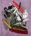 1 1 4 lb Knife Parts Lot Repair Parts Shrade Old Timer Vintage Parts