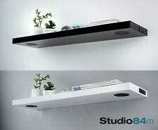 Skye High Gloss Stylish Bluetooth Modern Speaker Floating Shelf Wall Storage