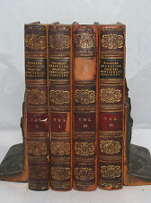 JOHN WALKER SELECTIONS FROM THE GENTLEMANS MAGAZINE LEATHER VOLUME BOOK SET 1814