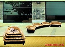 Strong Cute Dog Bed w/Cushion Cat Bed Pet Basket Pet Suppliers  Large Length30""