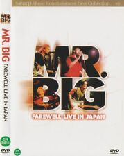Mr.Big: Farewell Live In Japan (2002) DVD NEW *FAST SHIPPING*