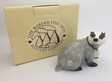 BORDER FINE ARTS POTTERY COMPANY BADGER A6726 NEW AND BOXED