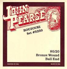 John Pearse BOUZOUKI STRINGS Bronze ball end strings, Suit Longscale/large body
