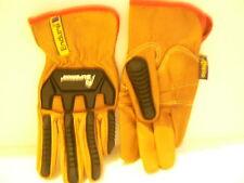 Superior Endura Mens Small Goatskin Driver Gloves Oilbloc New