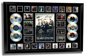 THE AMITY AFFLICTION JOEL BIRCH MISERY SIGNED LIMITED EDITION FRAMED MEMORABILIA