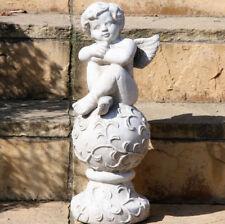 Engel Figur Putte Heiligenfigur Gartenfigur Skulptur Gartendek Deko Garten