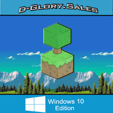 Minecraft: Windows 10 Edition (PC, FULL GAME, ACTIVATION KEY, MICROSOFT, NO BOX)
