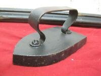 Antique Primitive Cast Iron Sad Iron Early 1900`s # 33