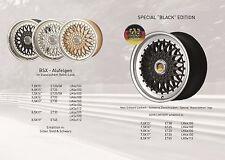 Lenso BSX Alufelgen 7,5 x17 Zoll für VW Golf Corrado 16 V ü. SA. BMW E 30 Polo