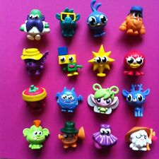 MOSHI MONSTERS Series 9 ☆ Full Set 16 ☆ Pipsi ☆ Twaddle ☆ Willow ☆ Posy Ultra Ra