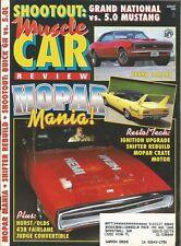 MUSCLE CAR REVIEW 1992 AUG - RANCHERO 428SCJ, YENKO